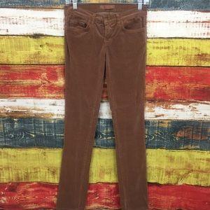 J Brand Henna Pencil Leg Corduroy Pants I15
